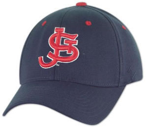 SJU Hat Navy with old school logo