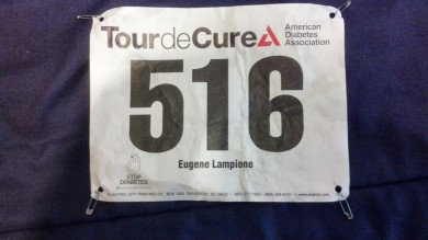 Tour de Cure Bib number